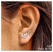 pierced earring best 25 pierced earrings ideas on pierced