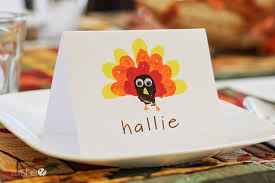 crafting with easy thanksgiving place cards
