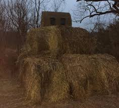 Elevated Bow Hunting Blinds Late Season Deer Hunting Tactics Legendary Whitetails