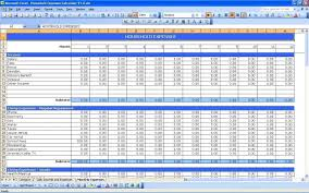 Example Of A Spreadsheet Example Of Business Expenses Spreadsheet Laobingkaisuo Com