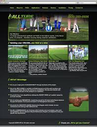 website homepage design south jersey custom web design portfolio allturf