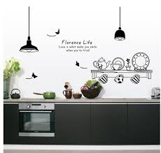 Wall Stickers For Kitchen by Free Shipping 60 90cm Florence Life Removable Wall Stickers