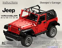 jeep instructions sheepo s garage jeep wrangler rubicon instructions