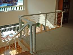 Banister Lake Chicken Wire Interior Stair Railings Railing Cable Railing