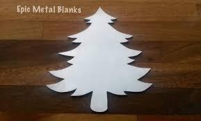 large christmas tree 5 pack aluminium stamping blankchristmas