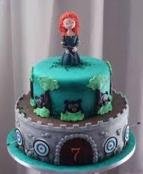 splendid disney brave birthday cake brave cakes cakes and disney