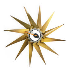 Herman Miller Clocks Nelson Turbine Clock By George Nelson
