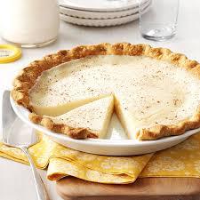 sugar cream pie recipe taste of home