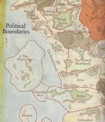 Map Of Faerun Image Political Boundaries 1372dr Sword Coast Jpg Forgotten