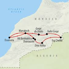Map Of Morocco And Spain by New Year Morocco Group Tour In 2017 On The Go Tours
