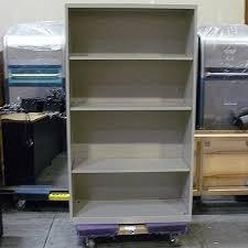 knoll calibre 3 shelf bookcase off white 36