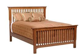 american made mission slat bed
