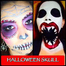 Halloween Makeup Skull by Halloween Make Up Tutorial Big Mouth Skull Collab Youtube