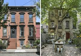 historic brick rowhouse asks 2 5m on a cobblestone street in red