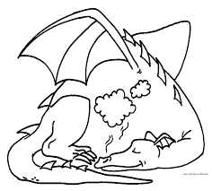 dragon picturs coloring home
