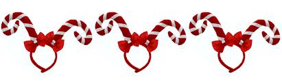 christmas headbands zac s alter ego pack of 3 christmas headbands boppers ebay