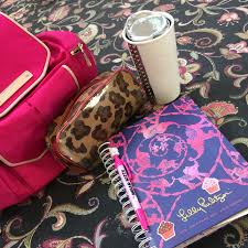lilly pulitzer agenda starbucks studded mug leopard pouch juicy