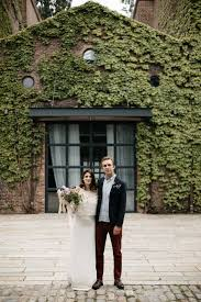 Creative Loft A Romantic Industrial Elopement Wedding At The Foundry