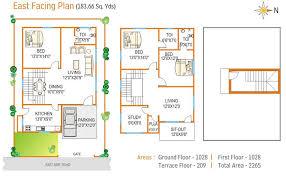 east facing duplex house floor plans floor plan navya homes at beeramguda near bhel hyderabad navya