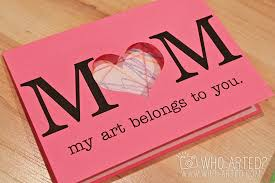 mothers day card s day cards project