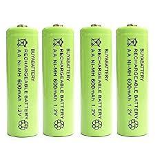 rechargeable aa batteries for solar lights pack of 4 uk buyabattery branded aa rechargeable solar amazon co uk