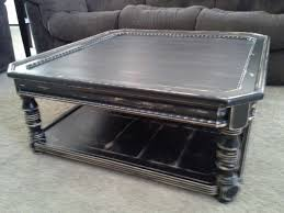 distressed black end table 20 best ideas of square black coffee tables