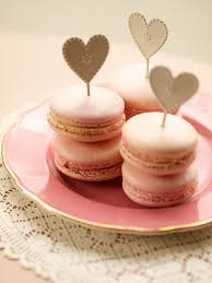 diy topper for wedding party macarons vintage pastel