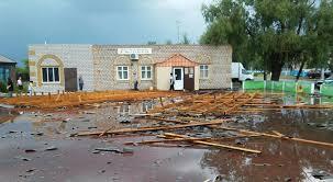 hurricane rips off roofs in pavlodar oblast emergencies tengrinews