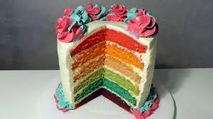 rainbow cake hervé cuisine recette du rainbow cake subtitles william s kitchen