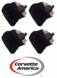 corvette america parts 69 96 corvette door glass anti rattle cushions 4 set by