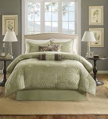 Beachy Comforters Sets Amazon Com Madison Park Freeport 7 Piece Jacquard Comforter Set