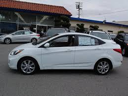 hyundai accent 2012 sedan hyundai accent 2012 white sedan gls gasoline 4 cylinders front