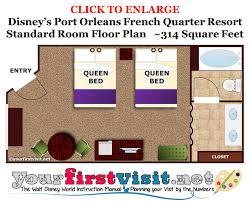 French Quarter Map Review Disney U0027s Port Orleans French Quarter Resort