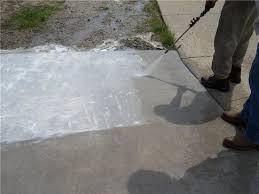 How To Clean Patio Slabs Without Pressure Washer Cleaning Concrete Power Washing Concrete The Concrete Network