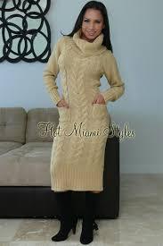 sweater dress knee length turtleneck sweater dress