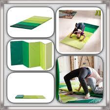 ikea plufsig folding gym mat green 78 x 185 cm brand new ebay