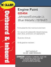 engine spray paint moeller marine