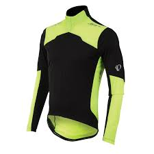 clear cycling jacket men u0027s p r o aero long sleeve jersey pearl izumi cycling gear
