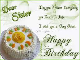 Happy Birthday Wishes To Big Birthday Wish For Sister 7 Best Birthday Resource Gallery