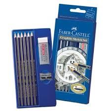 studio graphite sketch set by faber castell artist pencils