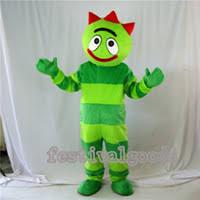wholesale yo gabba gabba mascot costume buy cheap yo gabba gabba