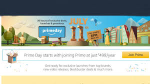 amazon black friday july sale amazon prime day sale on july 10 exclusive launches cashbacks
