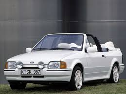 ford escort xr3i cabriolet loaned whilst classic being repaired