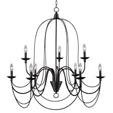 Colonial Chandelier Transitional Colonial Chandelier Large Shades Of Light