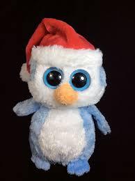 ty beanie boos fairbanks christmas santa hat plush 2011 6