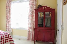 red toile curtains decorating ideas homesfeed