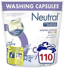 Neutral Colour Neutral Colour Washing 22 Capsules Approved Food