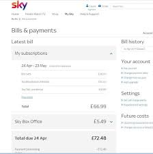 the easiest way to cancel sky tv
