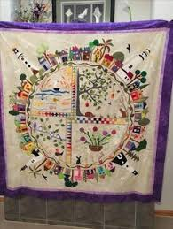 quilt pattern round and round lauren s mini version of aroundthegarden coming along nicely