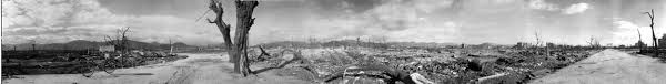 history of hiroshima panoramic photographs of the ruins after the